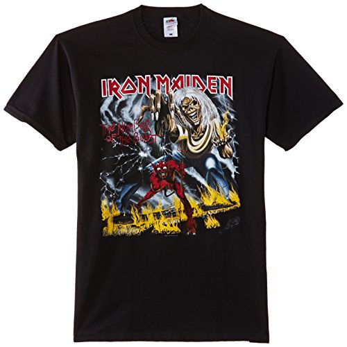 Men's Number of The Beast Iron Maiden T-Shirt