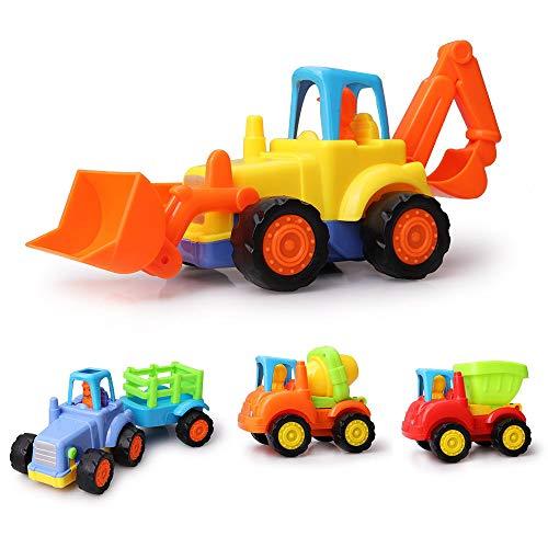 YKIO Boy Spielzeug Alter 2-9, Engineering Spielzeugauto 2 3 4 5 6 7 8 9 10 11 Jahre Alter Junge Spielzeug für 3-12 Jahre alte Jungen Geburtstagsgeschenk