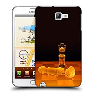 Snoogg Crystal Chess Designer Protective Back Case Cover For Samsung Galaxy Note 1