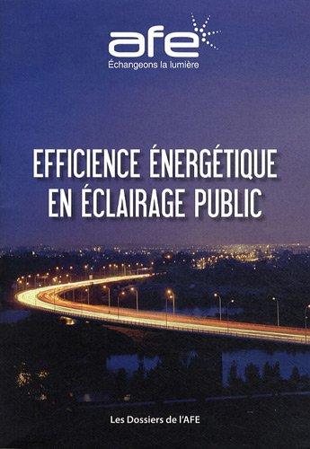 Efficience énergétique en éclairage public par AFE
