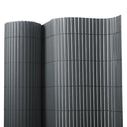 Brise vue casa pura® en gris | brise-vent pour l'usage extérieur | tailles diverses - matière robuste | 150x300cm
