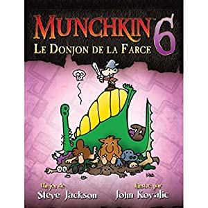 Asmodee-ubimu06-Juegos de Cartas-Munchkin 6-Le Donjon de la farsa -