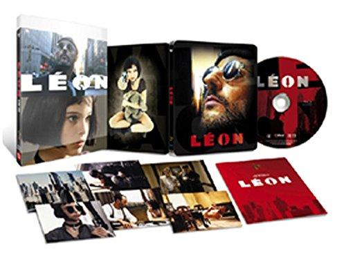 Leon - Der Profi - (The Professional) - streng limitierte Steelbook Edition im Schuber (Deutsche UT) - Bluray (Profi Leon Der Dvd)