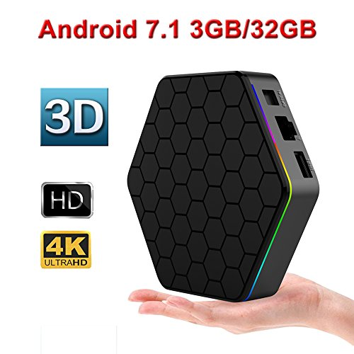 T95Z Plus Android 7 1 tv box with 3G RAM 32G ROM Amlogic
