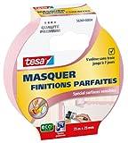 Tesa 56260-00004-00 Masquer Finitions Parfaites Spécial Surfaces Sensibles 25 m x 25 mm