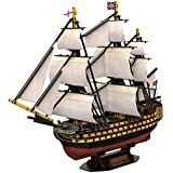 3D Puzzle - HMS Victory - Schwierigkeit: 5/8