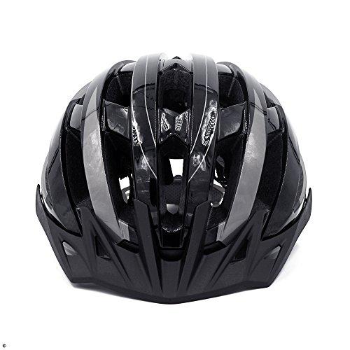 Livall Fahrradhelm MT1 mit Rücklicht, Blinker und SOS-System (schwarz/anthrazit) - 9