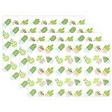 MUMIMI Kaktus Topfpflanzen Platzdeckchen hitzebeständig Esstisch Mats Rutschfest Waschbar Tischset 1Stück, Mehrfarbig, 12x18inch