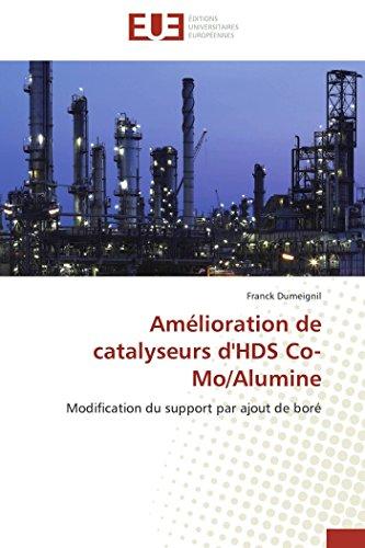 Amélioration de catalyseurs d'HDS Co-Mo/Alumine: Modification du support par ajout de boré (Omn.Univ.Europ.)