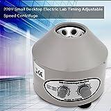 Elektrische Zentrifuge Labor Zentrifuge, 220V mit Einstellbaren Geschwindigkeiten und Zeitmesser Tischzentrifuge