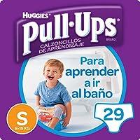 Huggies Pull-Ups - Calzoncillos de aprendizaje para niños, talla S (8-15 kg), 29 calzoncillos