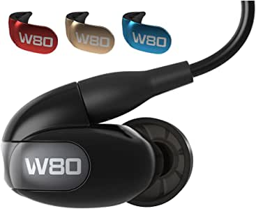 Westone W80 Eight Drivers IEM Earphone with Detachable Cable - Black