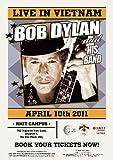 CLASSIC POSTERS Bob Dylan Live In Vietnam Foto-Nachdruck