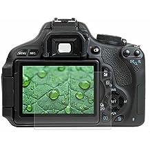 Protector de pantalla de vidrio templado 9H para cámara Canon, Nikon y Sony, de Puluz, 650d / 70d / 700d / 750d / 760d / 80d, Canon