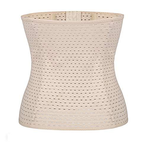 Postpartum Gürtel Gürtel Für Frauen Latex Taille Body Shaper Bauch Control Stahl Entbeint Trimmer Für Gewichtsverlust,Flesh,XL - Bauch Für Bindemittel Frauen Xl