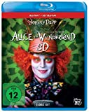 Alice im Wunderland (+ Blu-ray 3D) [Blu-ray] - Anne Hathaway, Christopher Lee, Michael Sheen, Crispin Glover, Helena Bonham Carter