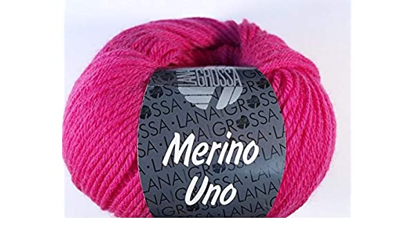 Fb Merino Uno Wolle Kreativ 32 türkis 50 g Lana Grossa