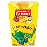 Maynards Bassetts Jelly Babies Sweets, 400 g