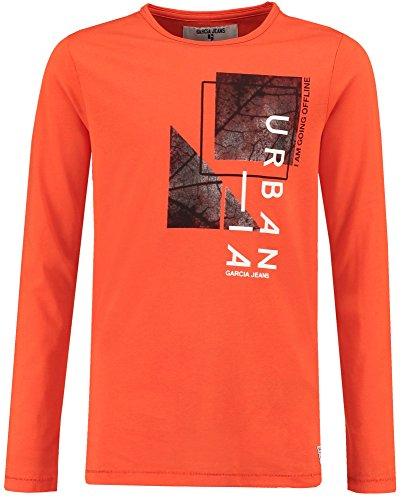 Garcia Jeans Jungen Shirt Langarm orange (33) 176