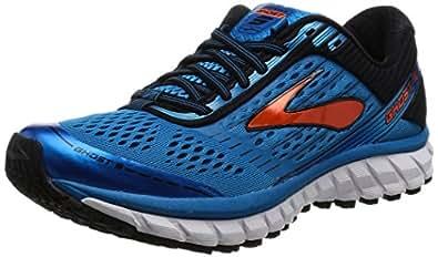 Brooks Men's Ghost 9 Running Shoes, Blue (Methylblue/black