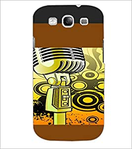 PrintDhaba Cartoon D-4103 Back Case Cover for SAMSUNG GALAXY S3 (Multi-Coloured)