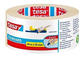 Cinta de pintor tesa Standard (50 m x 50 mm) (B00ISW95I0) | Amazon Products