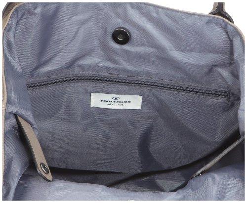 Tom Tailor Acc MIRIPU 10990 Damen Shopper 44x28x18 cm (B x H x T) Grau (taupe 21)