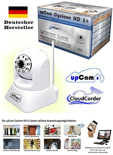 upCam Cyclone HD S+ IP Kamera mit Nachtsicht (mit SONY Exmor FULL HD Sensor 1920×1080 - 2