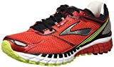 Brooks Aduro 3 M, Scarpe da Corsa Uomo, Multicolore (High Risk Red/Black/Nightlife), 44 1/2 EU