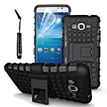 This unique Hard Shock Proof case incorporates beautiful design and robust protection. Keeps your Samsung Galaxy Grand Prime G530 compact and sleek. Easy access to all buttons, headphone jack and charging port. Protects from scratches, fingerprints, ...