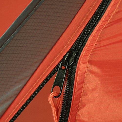 10T Silicone Biker – 2-Personen Touren-Geodät-Zelt mit großer Apsis silikonisiert Alu-Gestänge Packmaß ø18×45 WS=5000mm - 23