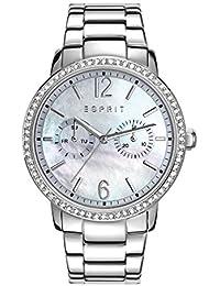 Esprit Damen-Armbanduhr Kate Analog Quarz Edelstahl ES108092001