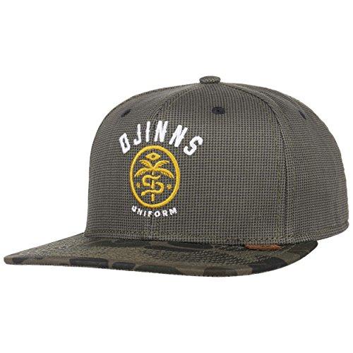 DJINNS - Camo Snake - Snapback Cap / Homme Chapeau Casquette de Baseball