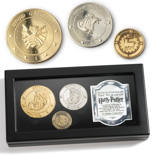 Harry Potter ``Gringotts Bank`` Coins Collection from The Noble Collection