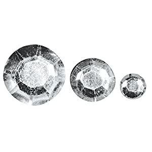 Rayher Hobby  Lot de 310 strass cristal à coller 3 tailles