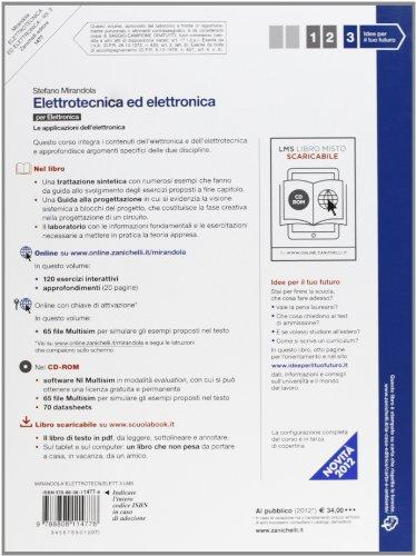 Elettrotecnica ed elettronica. Per le Scuole superiori. Con CD-ROM. Con espansione online: 3