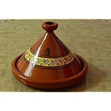 Tajine marroquí para cocinar Ø 35 cm para 4-5 personas