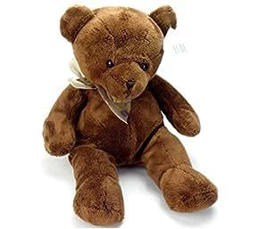 Kuschel Teddybär Teddy 34cm Stofftier Samtig und kuschelig weiche Plüschbär Plüsch Kuscheltier Plüschtier Teddie