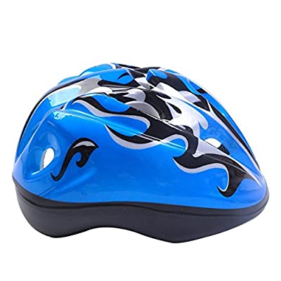 Tokou Children Bike Helmet Cycling Helmet Light Weight Helmet Specialized for Boys and Girls Riding Safety Blue by Tokou