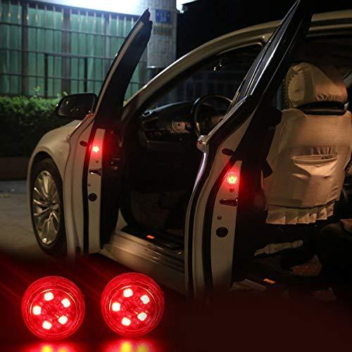 Gugutogo Free modification wireless Car-Styling LED Light Anti Collision Car Door Light