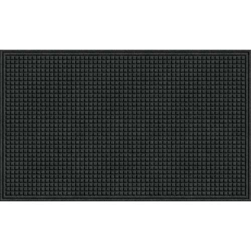 Apache Mills 78-880-1907 Eco Mat Squares Entrance Door Mat, Onyx, 3-feet by 5-Feet by Apache Mills -