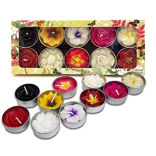 mixed-10-handmade-fairtrade-scentd-flower-tealight-candle-in-assorted-designs-and-colours-gift-set