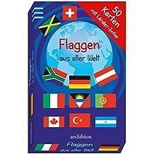 Flaggen aus aller Welt (50 Karten)