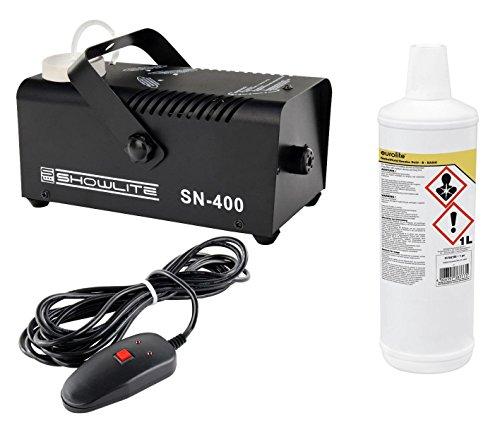 12v Nebelmaschine - Showlite SN-400 Nebelmaschine 400W mit Fernbedienung