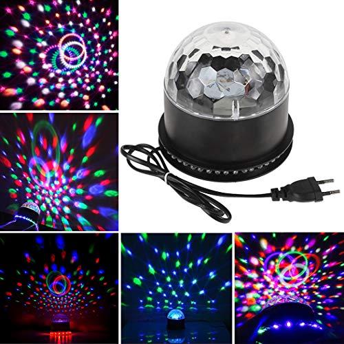 Fansport Disco Ball Party Light Sprachsteuerung Drehbare LED Blitzleuchte