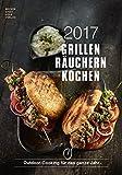 Produkt-Bild: Grillen Räuchern Kochen 2017 - Rezeptkalender (24 x 34) - Küchenkalender - Fleisch - Barbecue - Grillkalender - by Angelo Menta (BJVV)