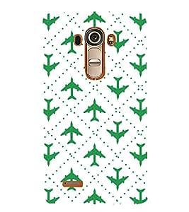 HiFi Designer Phone Back Case Cover LG G4 :: LG G4 Dual LTE :: LG G4 H818P H818N :: LG G4 H815 H815TR H815T H815P H812 H810 H811 LS991 VS986 US991 ( Green Pilot Air Hostess Aviator Colorful Pattern Design )
