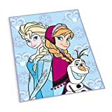 Herding 6480010012412 Teppich / Kinderteppich Disney's Eiskönigin, größe, 100 x 130 cm
