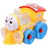 Vivir High Quality 4D Flashing Lights And Musical Funny Locomotive Engine Bump And Go Action Train Toys For Kids ( Toys For 2 Year Old Boy And Girl )
