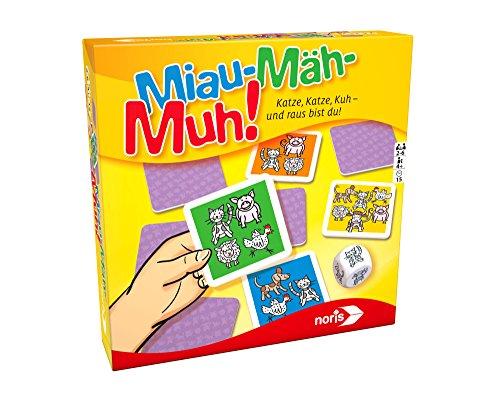 """Noris Kinderspiele 606011637\"""" MIAU Mäh MUH Spiel"""